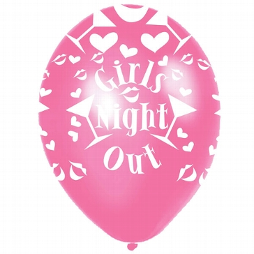 "Rundballon ""Girls Night Out"""