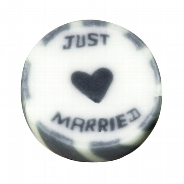 "Bonbons ""Just Married"" silber"