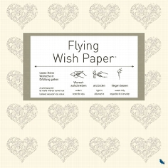 Flying Wishpaper, 50er Pack