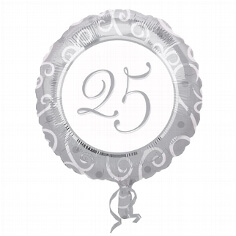 "Folienballon ""25"""
