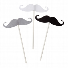 Moustache Sticks