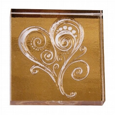 Stempel Dancing Heart