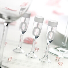 "Wedding Bubbles ""Sektglas"""
