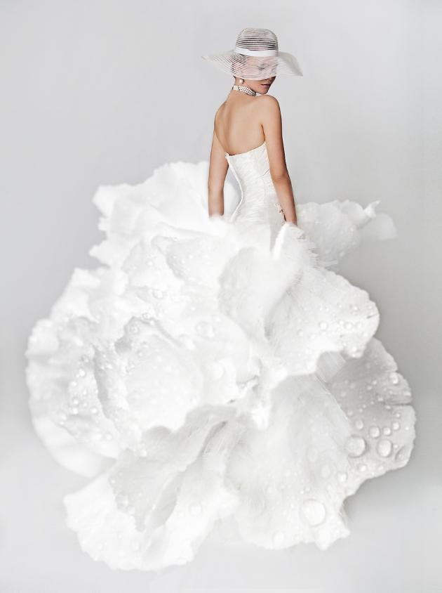 Extravagante Braut