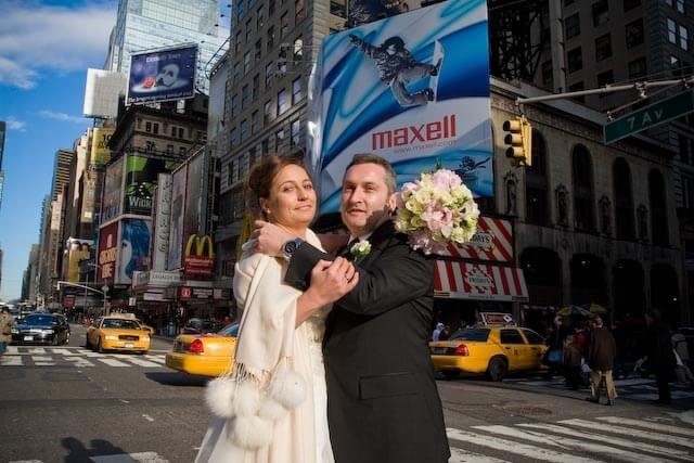 Heiraten und Flittern in New York