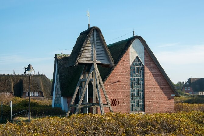 Kirche St.Peter in Rantum Hörnum
