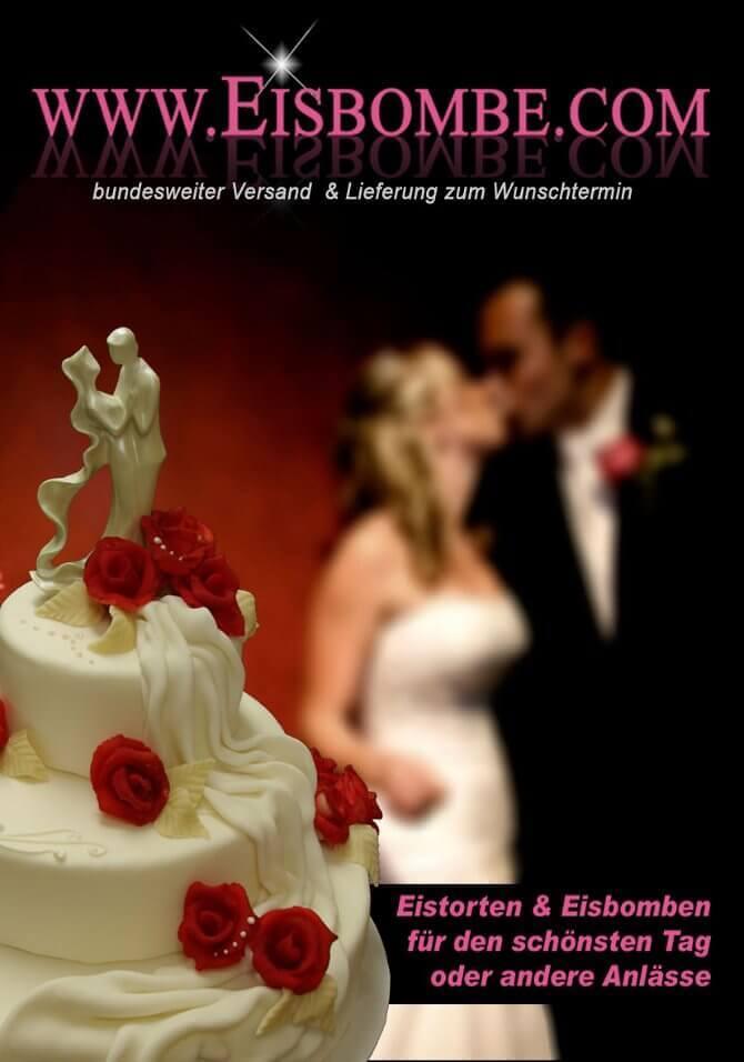 Eistorten und Eisbomben zur Hochzeit