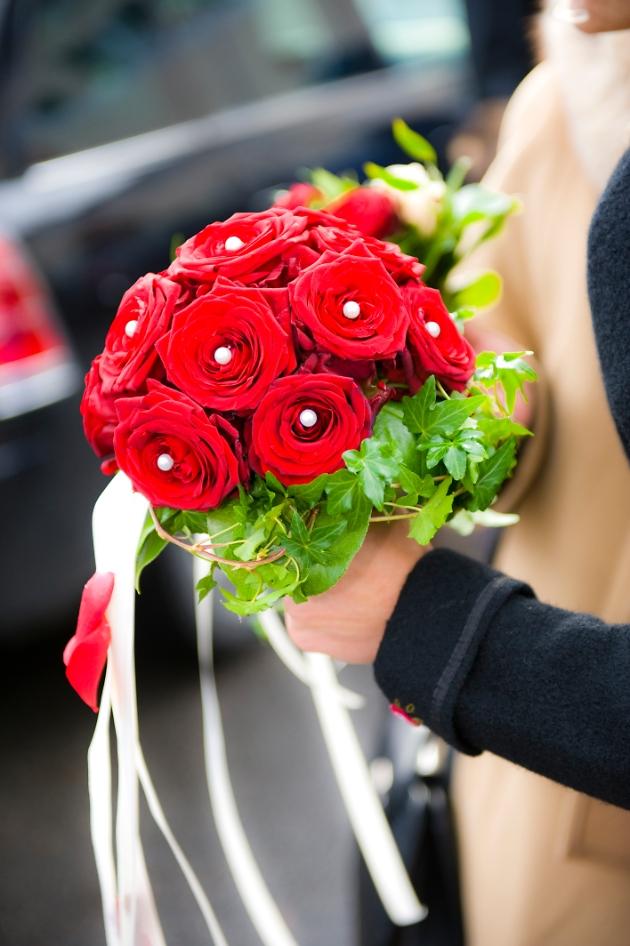 Blumenstrauß aus Rosen