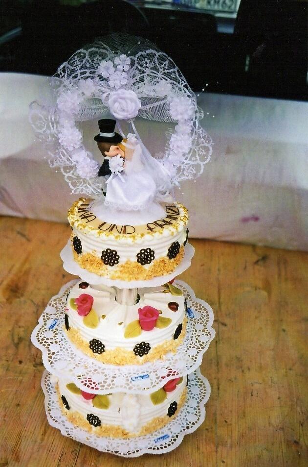 Hochzeitstorten in allen Größen