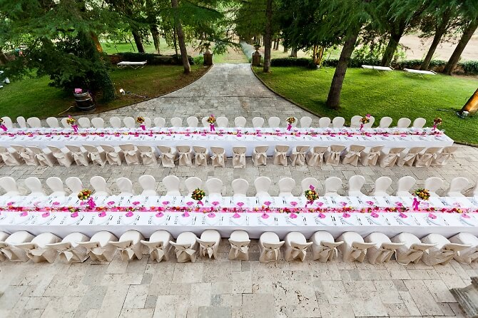 Hochzeitsorganisation für Italien