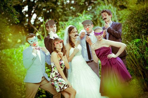 Photobooth auf der Hochzeit