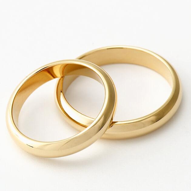 Kemper Ringe zur Hochzeit in Gold