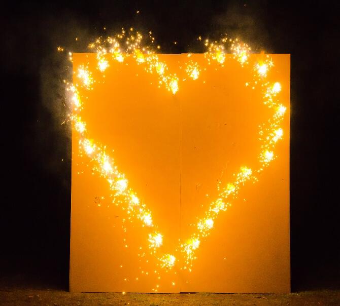 Herz aus Feuer