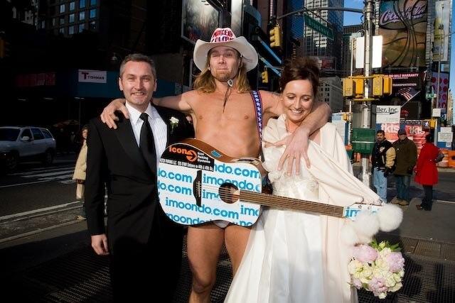 Hochzeit und Flitterwochen in New York