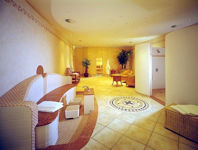 Wellnessbereich des Hotels
