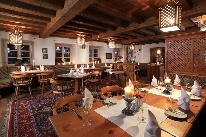 Restaurant des Hotels Insel Mühle
