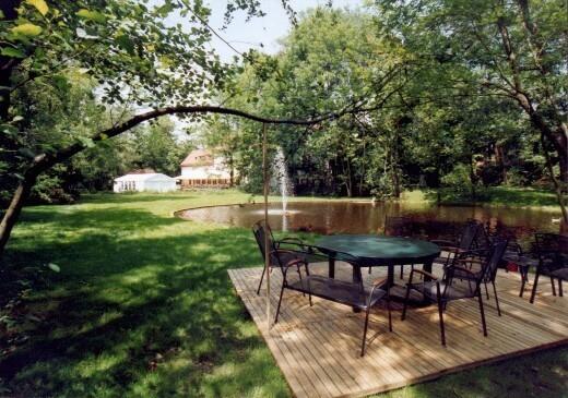 Park des Hotels Insel Mühle