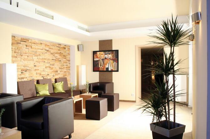 Lounge des Hotels