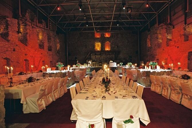 Arena für große Hochzeitsfeste