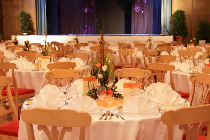 Festsaal des Klosterhotels