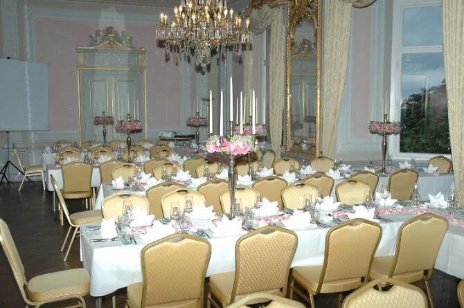 Festsaal des Schlosses