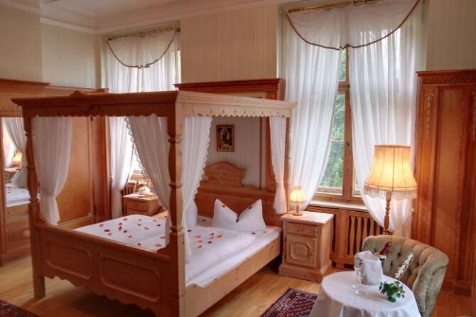 Zimmer in der Villa Altenburg