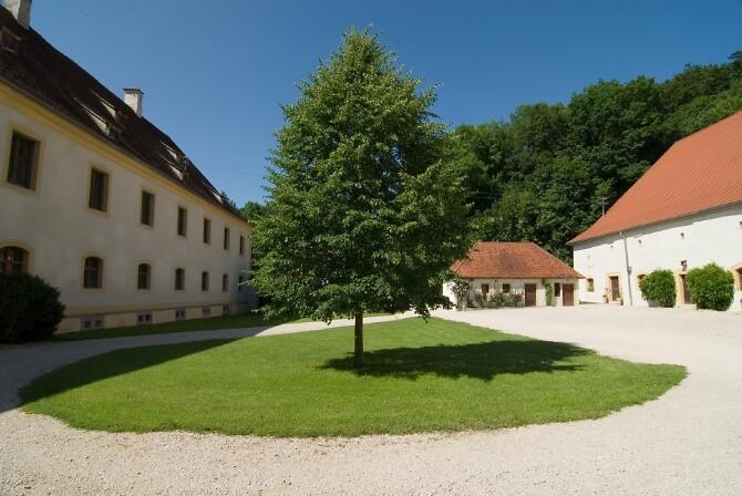 Innenhof Schloss Ehrenfels