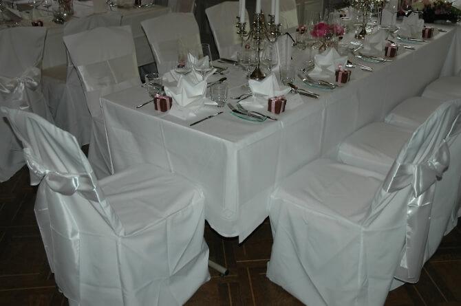 Speisesaal für Hochzeitsfeiern