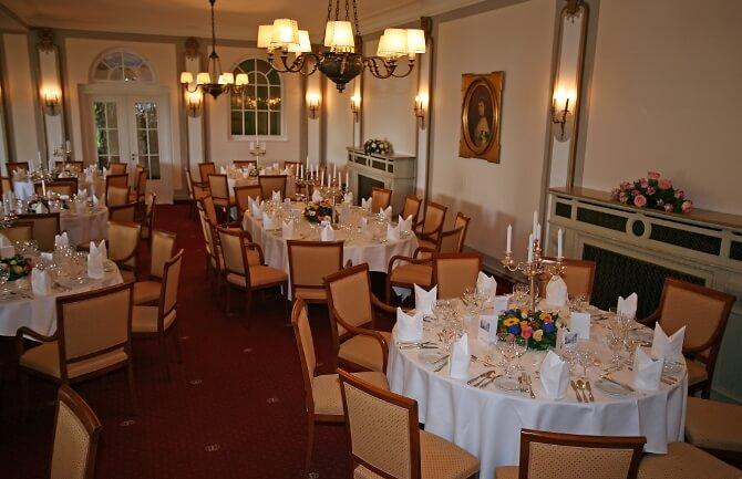 Hochzeitssaal im Golfhotel