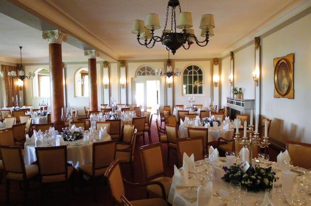 Speisesaal des Hotels