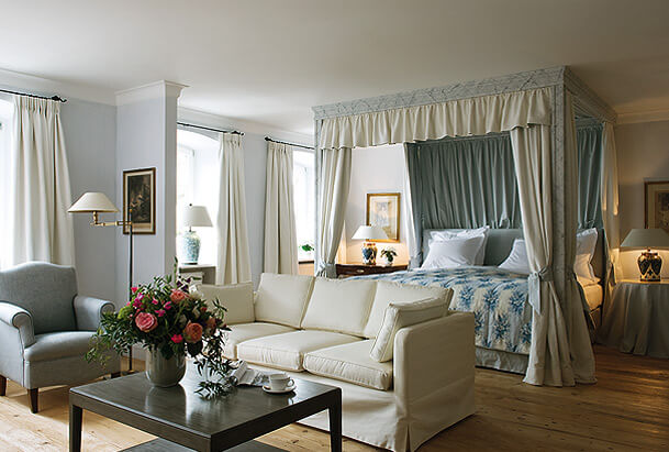 Stilvolles Hotelzimmer