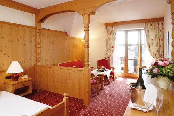 Hotelzimmer des Forsthauses