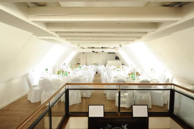 Festsaal des Restaurants