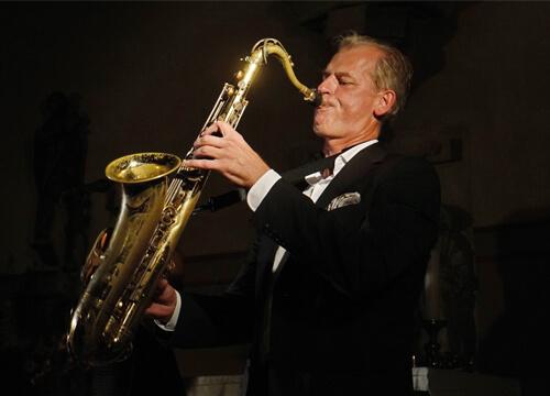 Solid Jazz Trompeter