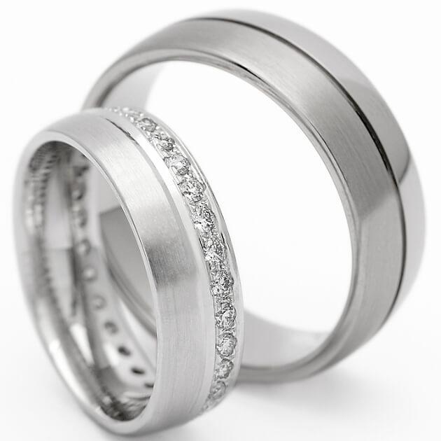 Eheringe in Silber von Giuli