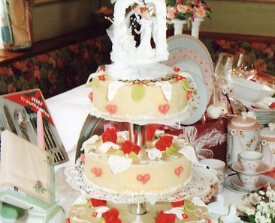 Hochzeitstorten der Konditorei Rühl