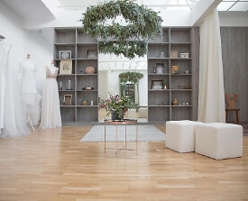 Perera Rüsche Brautmode
