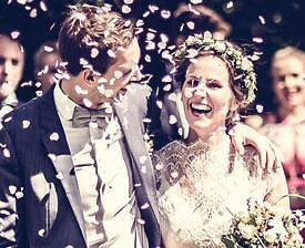 Brautpaar Blüten