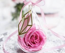 Gastgeschenk Glas zum Befüllen zur Hochzeit