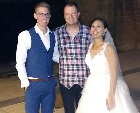 Balkan / Deutsch Brautpaar