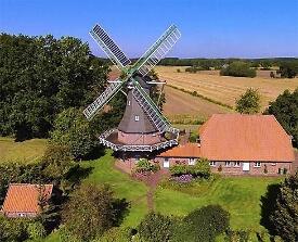 Windmühle - De lütje Anja