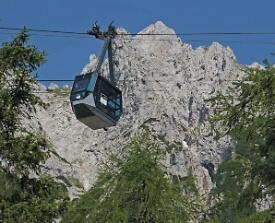 Gondel Karwendelbahn