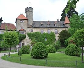 Außenansicht Schloss Hohenstein