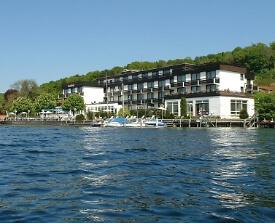 Außenansicht Seehotel Leoni