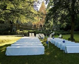 Trauung im Freien auf Schloss Liebieg