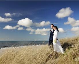 Hochzeitsbilder am Strand