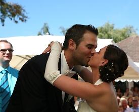 Trauung Hochzeitspaar