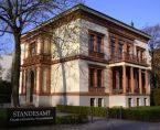 Aussenansicht der Villa Kogge - Trauungen durch das Standesamt Berlin Charlottenburg-Wilmersdorf