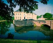 Hochzeitslocation Schloss Miel in der Außenansicht