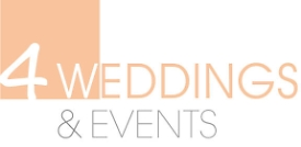 4 weddings & events